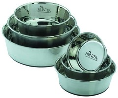 Миска из нержавеющей стали для собак, Hunter Smart, 1,9 л, диаметр 20 см