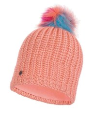 Вязаная шапка с флисовой подкладкой Buff Hat Knitted Polar Dania Peach