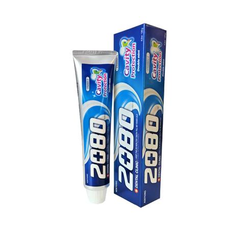Зубная паста натуральная мята Aekyung Dental Clinic 2080 Cavity Protection 120 гр