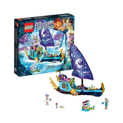 LEGO Elves: Корабль Наиды 41073 — Farran and the Crystal Hollow Naida's Epic Adventure Ship — Лего Эльфы