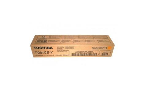Тонер-картридж Toshiba T-281C-EY 6AK00000107/6AG00000843 желтый