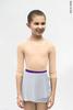 Kids set: 2 Sleeves leotard nude + skirt