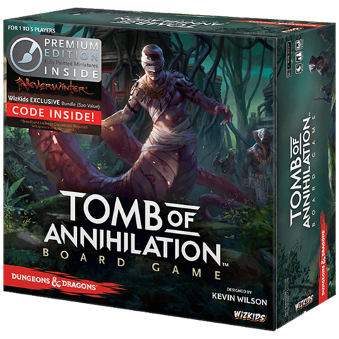 Tomb of Annihilation: Adventure System Board Game