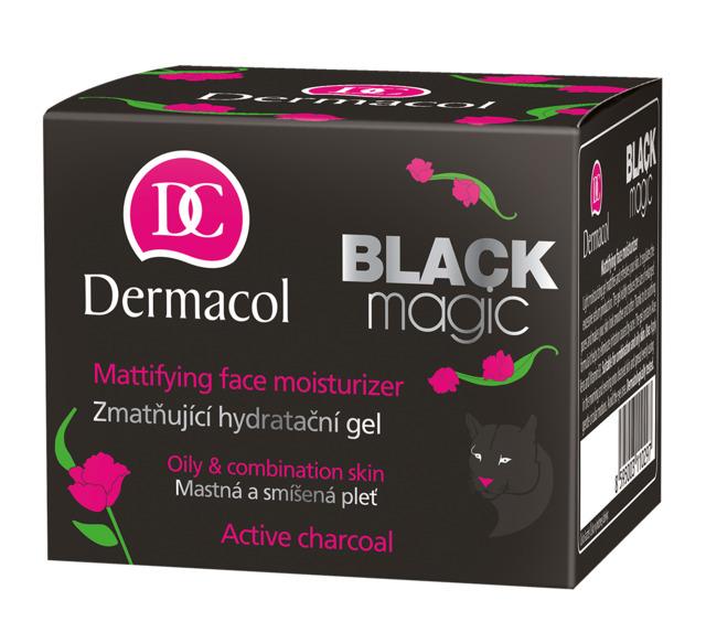 Dermacol Black Magic Матирующий увлажняющий гель для дневного и ночного ухода, 50мл