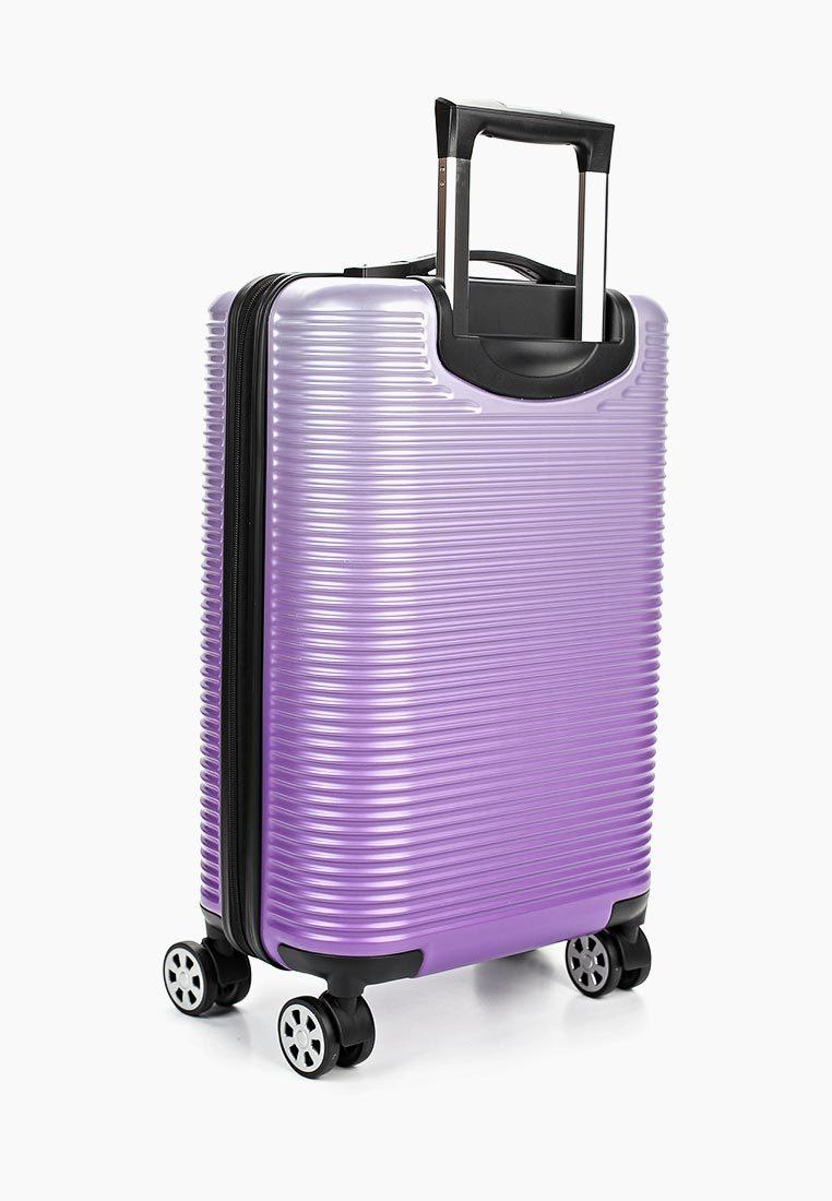 Чемодан SunVoyage Elit SV042-AC157 Фиолетовая волна (S+)