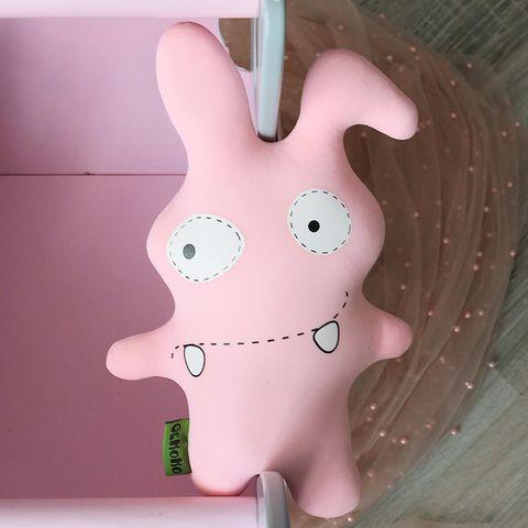 Подушка-игрушка антистресс «Монстрик розовый» 5