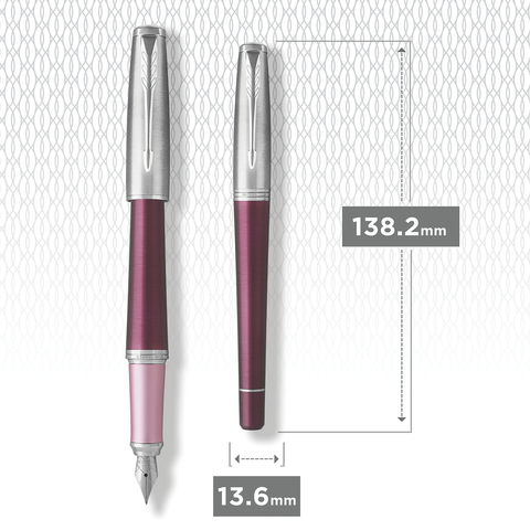 Перьевая ручка Parker Urban  Premium Dark Purple CT.123