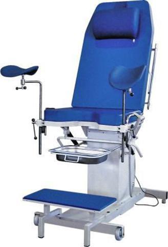 Кресло гинекологическое КГ-3Э (ручной п/у  / ножной п/у)(регул.по высоте) - фото