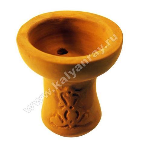 Чашка глиняная толстая