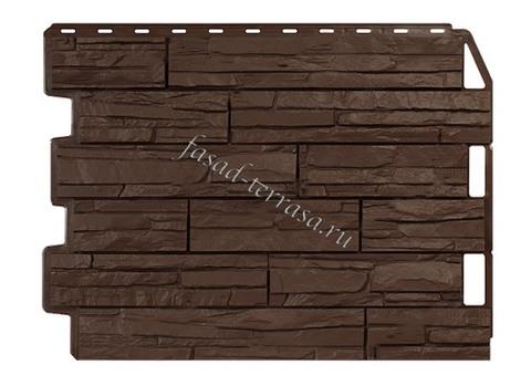 Wandstein Скол Тёмно-коричневый