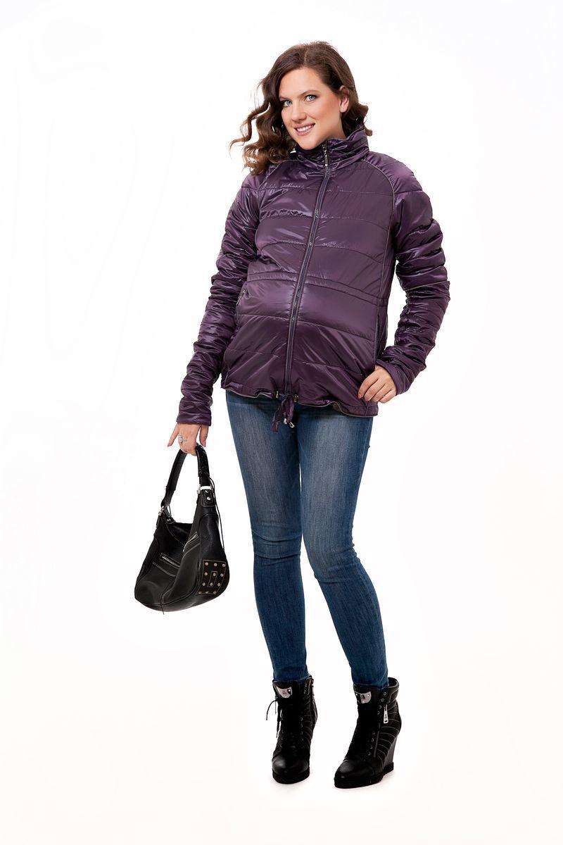 Куртка для беременных 04796 фиолетовый