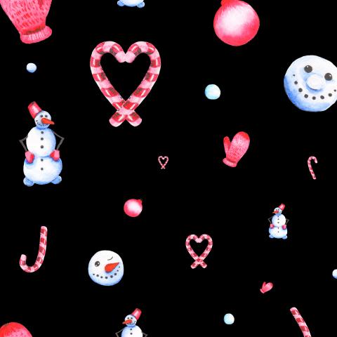Влюбленный снеговик (2)
