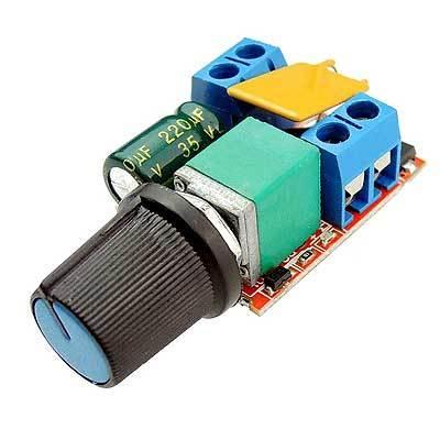 Модуль RP079. Регулятор оборотов двигателя с ШИМ. DC 3...36 В (5 А)