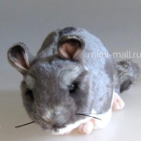 Мягкая игрушка Шиншилла 22 см (Leosco)
