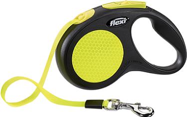 Рулетки Поводок-рулетка Flexi Neon New Classic  S (до 15 кг) лента 5 м 5442499f-444e-11e6-80f8-00155d29080b.png