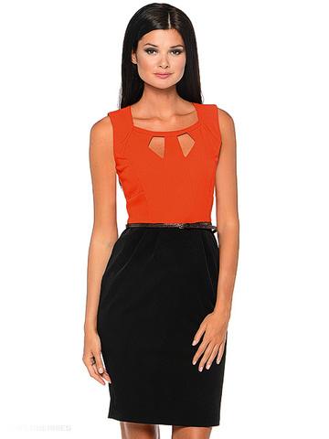 WD2421V-1 платье женское, красное
