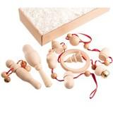 Набор погремушек «Неокрашенный в подарочной коробке»