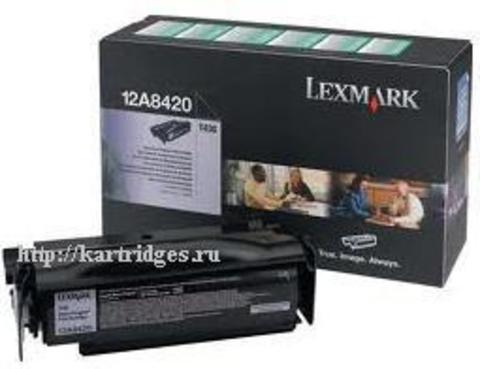 Картридж Lexmark 12A8420