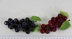 Виноград искусственный, средний, 11 см, 21 ягоды.