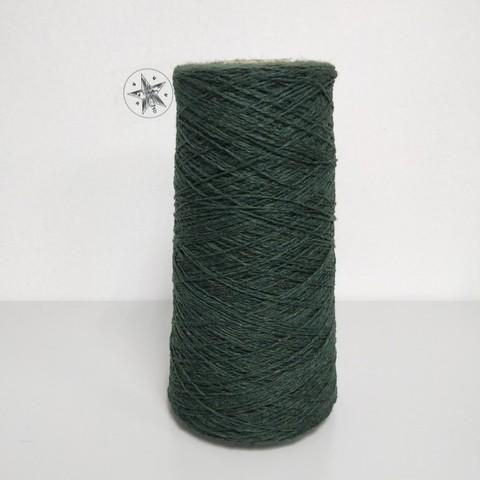 Шерсть, Зеленый, 450 м/100 г