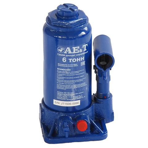 AE&T (T20206) Домкрат бутылочный 6 тонн