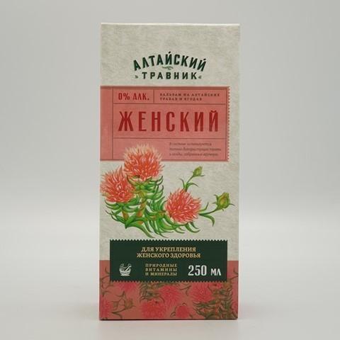 Бальзам Алтайский травник Женский GREEN SIDE, 250 мл