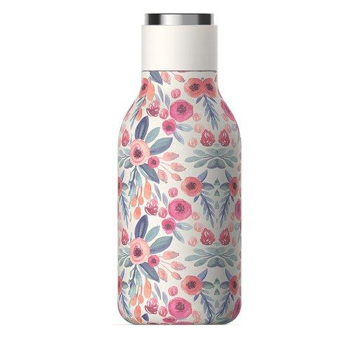 Термос-бутылка Asobu Urban (0,46 литра), цветочная