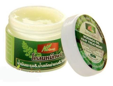 Маска для волос с маслом моринги