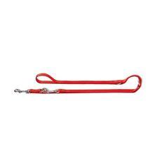 Поводок-перестежка для собак, Hunter Smart Ecco 20/200, нейлон красный