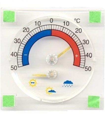 Термометр для пластиковых окон с функцией предсказания погоды ТС-22