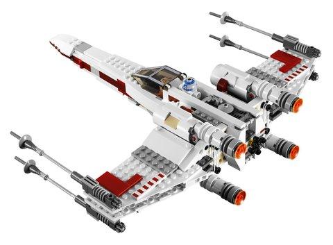 LEGO Star Wars: Истребитель X-wing 9493 — X-wing Starfighter — Лего Звездные войны Стар Ворз