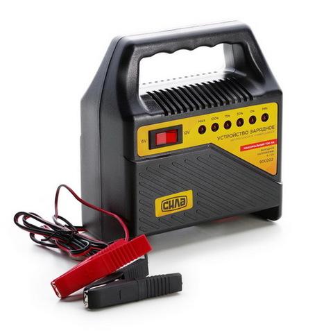 Устройство зарядное 6A, 6/12V (светодиодный индикатор) (СИЛА - Инструмент)