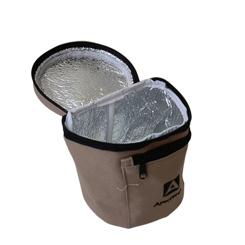 Термос для еды Арктика (0,6 литра) с супер-широким горлом, зеленый
