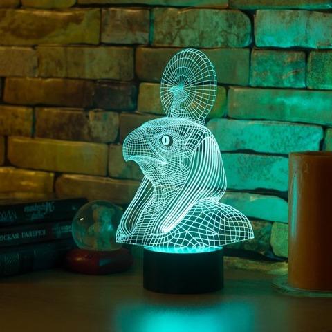 3D ночник Египетский Бог Ра