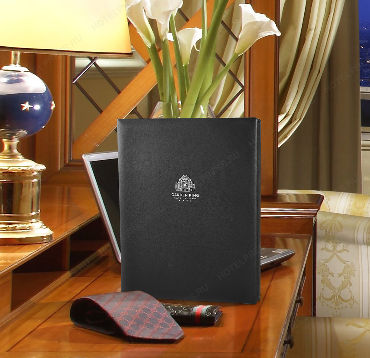 Папка для гостей гостиницы или отеля