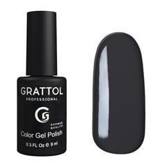 Grattol, Гель-лак 053, Dark Coral, 9 мл