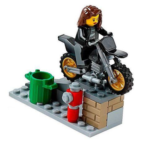 LEGO City: Погоня за воришками-байкерами 60042 — High Speed Police Chase — Лего Сити Город