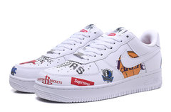 Supreme x NBA x Nike Air Force 1 Low 'White'