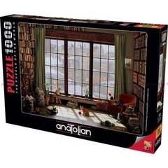 Puzzle Pencere Kedileri. Window Cats 1000 pcs
