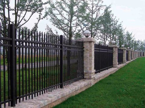 Кованый забор N-4