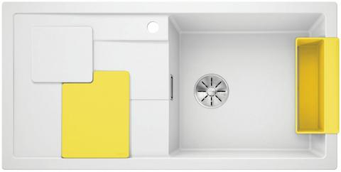 Кухонная мойка Blanco SITY XL 6 S, белый/лимон