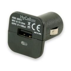 Автомобильный адаптер HyCell USB-Carcharger 5V DC 1000mA