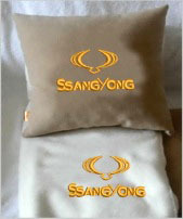 Плед в чехле с логотипом SsangYong