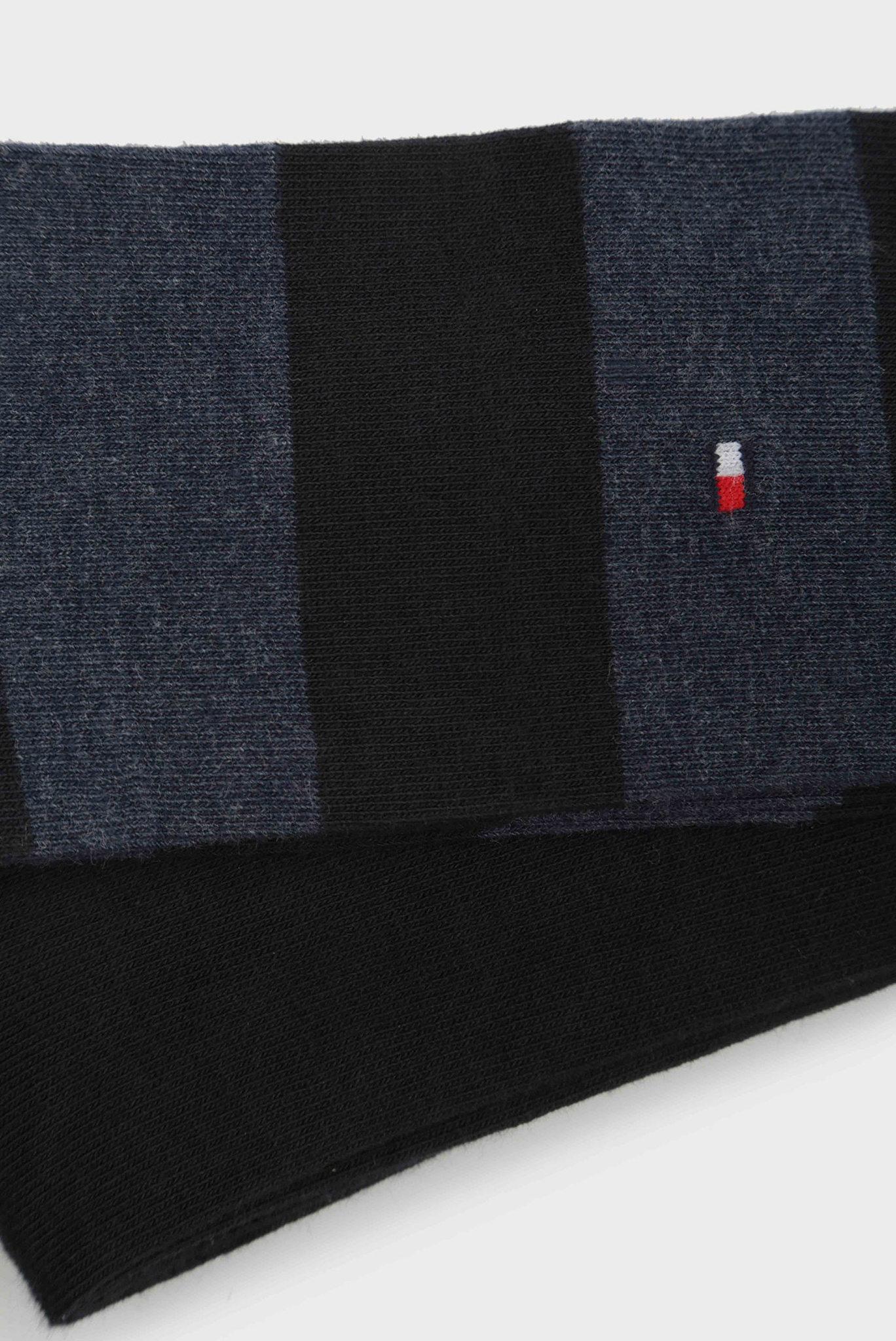 Мужские синие высокие носки (2 пары) Tommy Hilfiger
