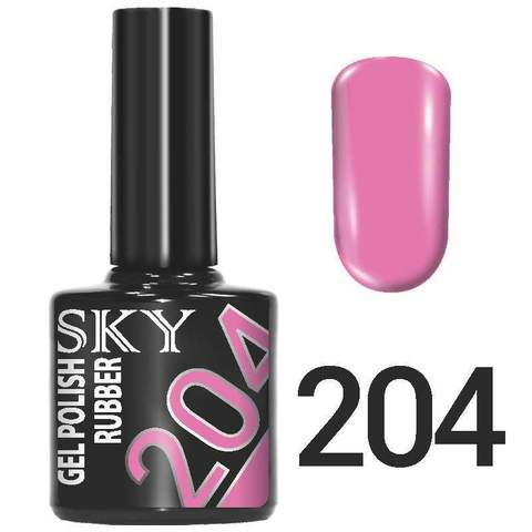 Sky Гель-лак трёхфазный тон №204 10мл