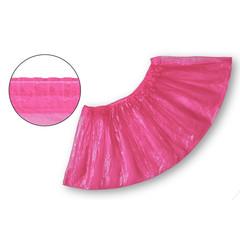 Бахилы одноразовые полиэтиленовые текстурированные 2.8 г розовые (50 пар в упаковке)