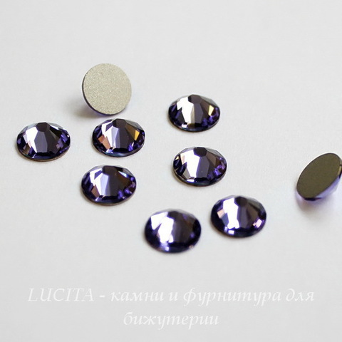 2058 Стразы Сваровски холодной фиксации Tanzanite ss12 (3,0-3,2 мм), 12 штук ()
