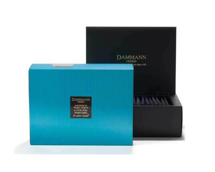 Набор чая Dammann Blue Box, Голубой (Дамманн)