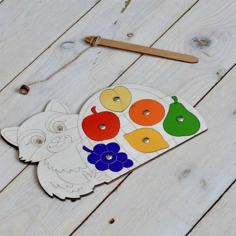 Магнитная игра Енот с фруктами RadugaKids (Радуга Кидс) арт. RK1091