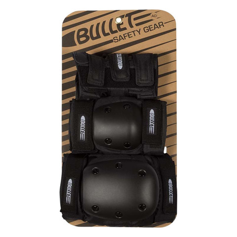 Комплект защиты BULLET Adult Set (Black)